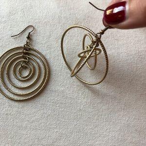 Gold BCBG Earrings.